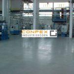 Industrieboden mit Oberflächenveredelung