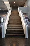 Treppenaufgang mit Kunstharzbeschichtung