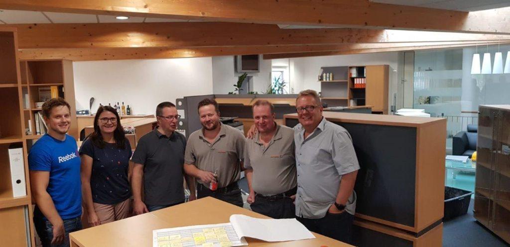 Conpex Industrieböden im neuen Büro