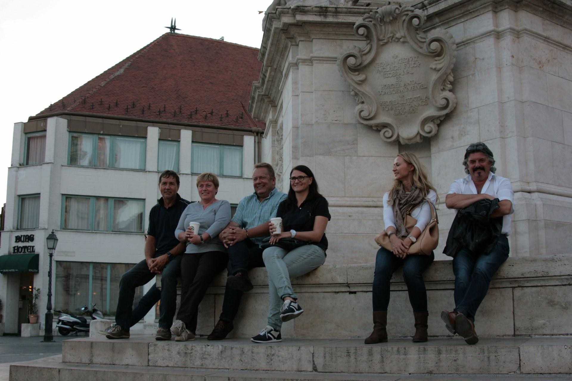 Bondengespräche in Budapest