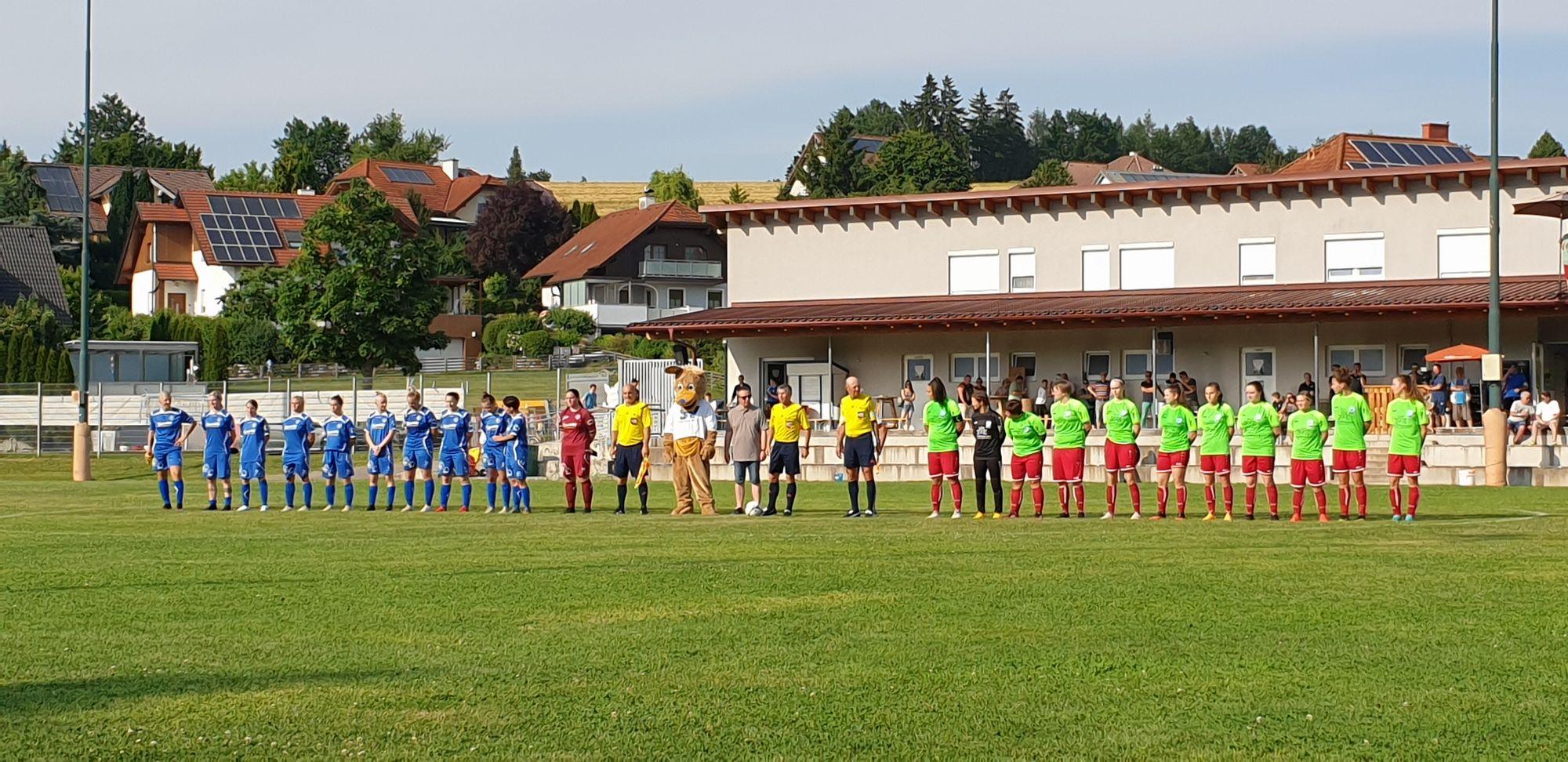 Match in Krenglbach sponsored by Conpex