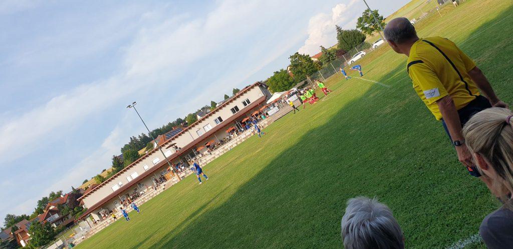 Conpex sponsert das Match in Krenglbach